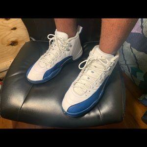 | Air Jordan 12s French Blues |